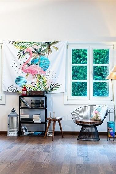 home-bath Duvar Örtüsü Coral Dream Renkli